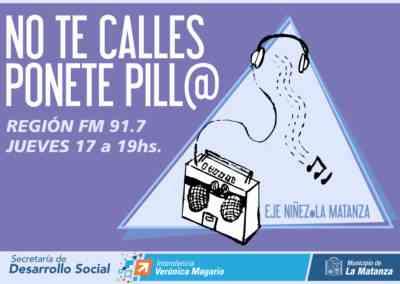 """No te calles, ponete pill@"""