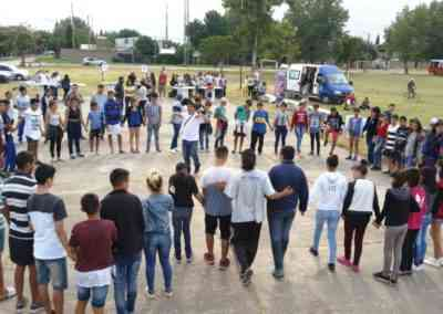 Jornada Comunitaria en Barrio 17 de Marzo, Isidro Casanova