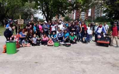 Se llevo a cabo la jornada «Cuidado de Espacios Públicos» en Villa Madero