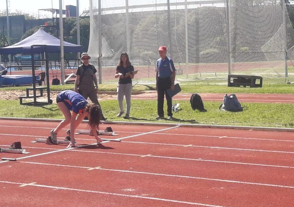 ANDAR en el Campeonato Metropolitano de atletismo