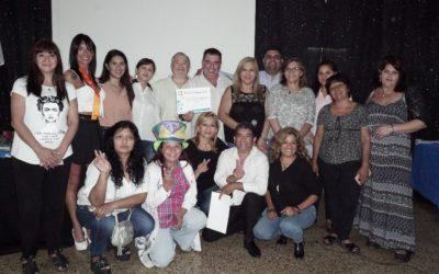 Brindis y reconocimientos en Discapacidad